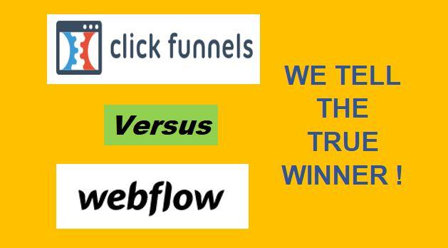 ClickFunnels Vs Webflow